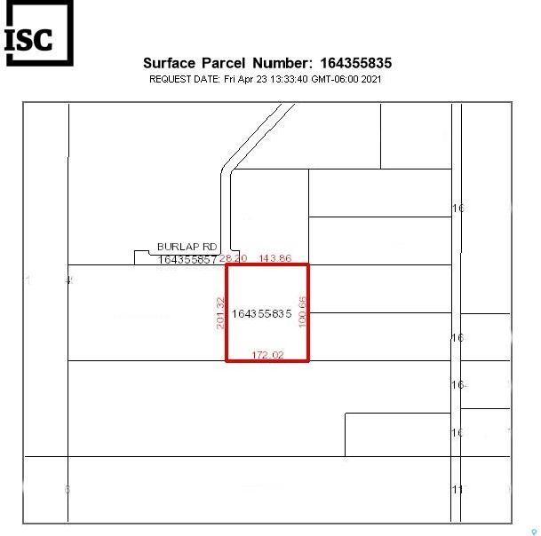 Main Photo: Burlap Road Lot Q in Vanscoy: Lot/Land for sale (Vanscoy Rm No. 345)  : MLS®# SK872164