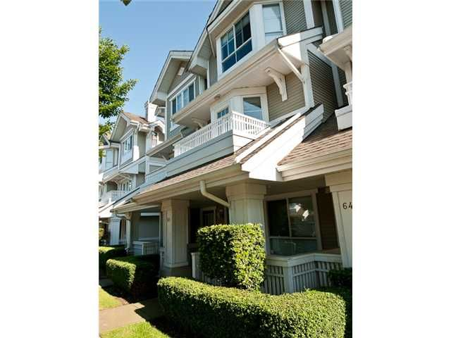 Main Photo: 65 22000 SHARPE Avenue in Richmond: Hamilton RI Townhouse for sale : MLS®# V836313