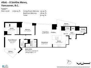 "Photo 24: 806 8 SMITHE Mews in Vancouver: Yaletown Condo for sale in ""FLAGSHIP"" (Vancouver West)  : MLS®# R2549159"