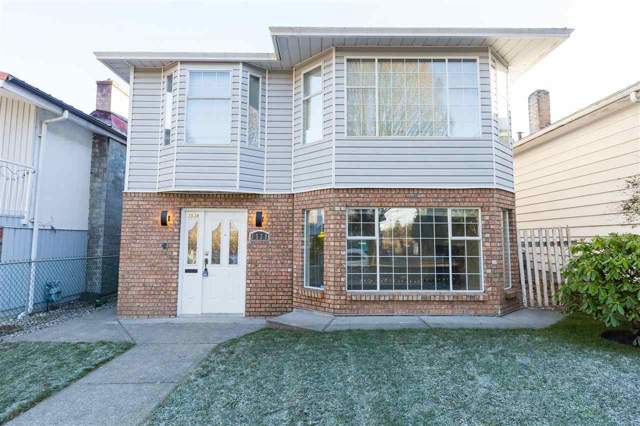 Main Photo: 3538 ONTARIO Street in Vancouver: Main House for sale (Vancouver East)  : MLS®# R2558064