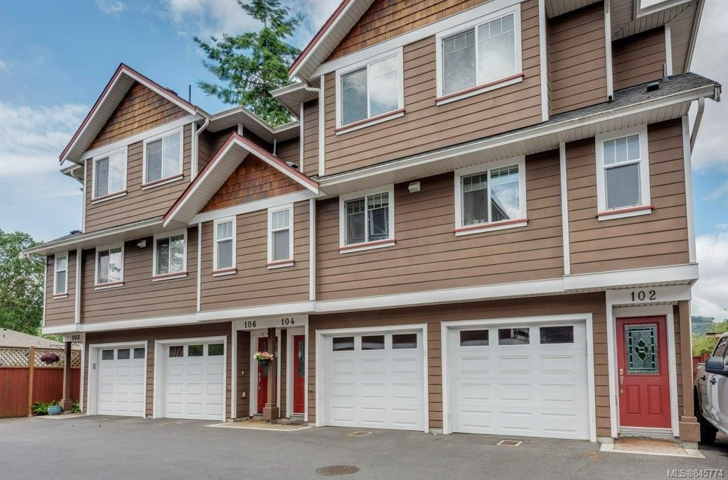 Main Photo: 106 2680 Peatt Rd in : La Langford Proper Row/Townhouse for sale (Langford)  : MLS®# 845774