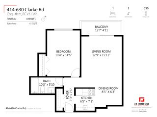 "Photo 24: 414 630 CLARKE Road in Coquitlam: Coquitlam West Condo for sale in ""King Charles Court"" : MLS®# R2556475"