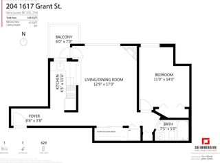 Photo 19: 204 1617 GRANT STREET in Vancouver: Grandview Woodland Condo for sale (Vancouver East)  : MLS®# R2604892