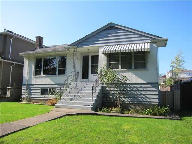Main Photo: 3185 COPLEY Street in Vancouver: Renfrew Heights House for sale (Vancouver East)  : MLS®# V1032334