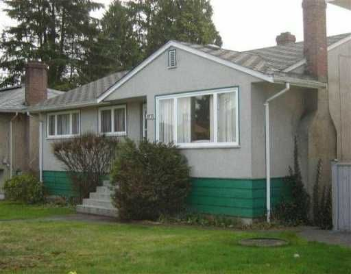 Main Photo: 8370 13TH Ave in Burnaby: East Burnaby House for sale (Burnaby East)  : MLS®# V635461