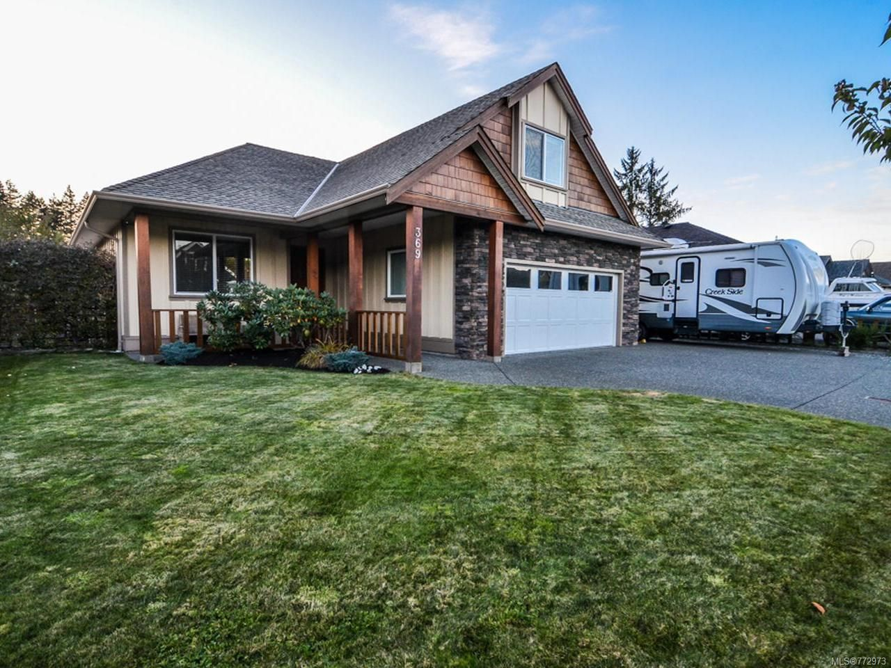 Main Photo: 369 SERENITY DRIVE in CAMPBELL RIVER: CR Campbell River West House for sale (Campbell River)  : MLS®# 772973