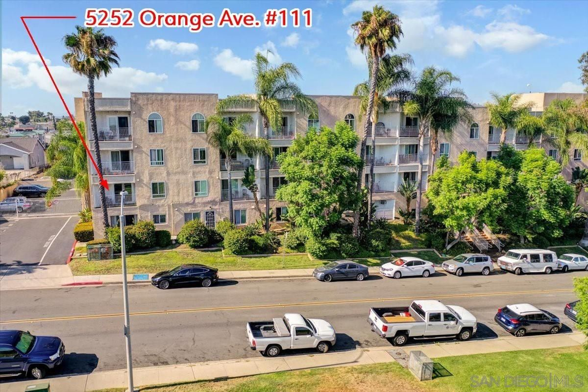Main Photo: SAN DIEGO Condo for sale : 2 bedrooms : 5252 Orange Ave. ##111