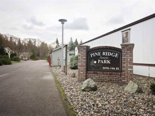 """Photo 20: 81 2270 196 Street in Langley: Brookswood Langley Manufactured Home for sale in """"Pineridge Park"""" : MLS®# R2224829"""