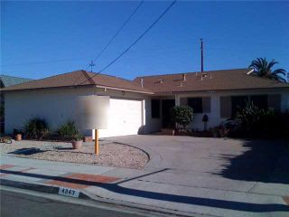 Photo 1: CLAIREMONT House for sale : 3 bedrooms : 4843 MT. CASAS in SAN DIEGO