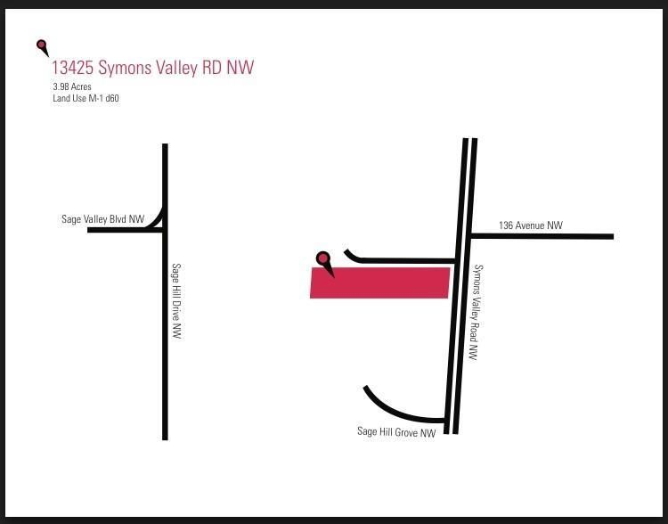 Main Photo: 13425 SYMONS VALLEY Road NW in Calgary: Sage Hill Land for sale : MLS®# C4253562