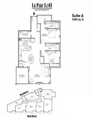 Photo 2: 201 3290 Pembina Highway in Winnipeg: St Norbert Condominium for sale (1Q)  : MLS®# 202124494