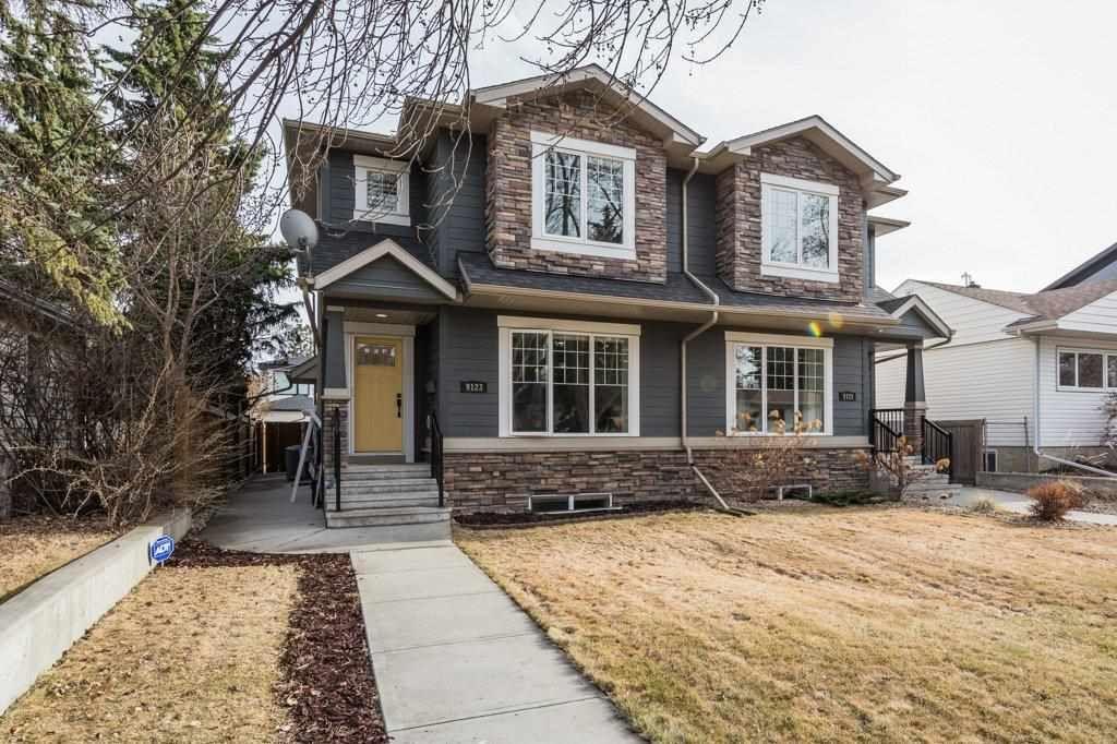 Main Photo: 9123 74 Avenue in Edmonton: Zone 17 House Half Duplex for sale : MLS®# E4241218