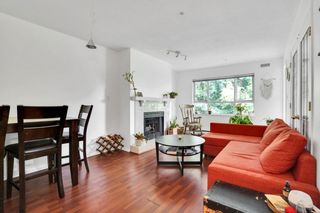 """Photo 1: 308 5577 SMITH Avenue in Burnaby: Central Park BS Condo for sale in """"COTTONWOOD GROVE"""" (Burnaby South)  : MLS®# R2615897"""