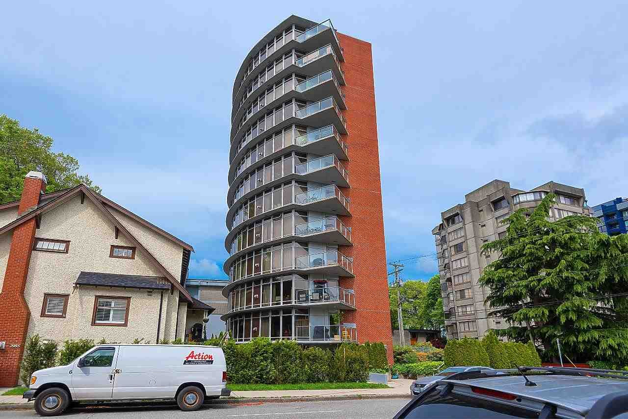 """Main Photo: 201 2965 FIR Street in Vancouver: Fairview VW Condo for sale in """"Crystle Court"""" (Vancouver West)  : MLS®# R2582689"""