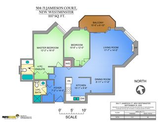 """Photo 27: 504 71 JAMIESON Court in New Westminster: Fraserview NW Condo for sale in """"PALACE QUAY"""" : MLS®# R2503066"""