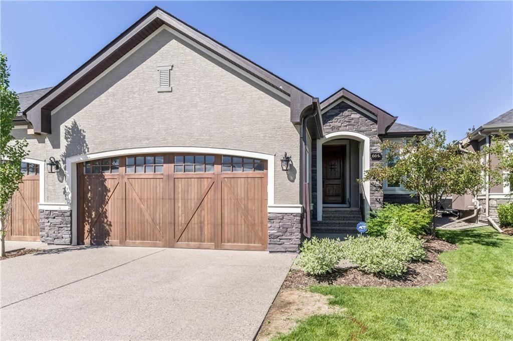 Main Photo: 664 CRANSTON Avenue SE in Calgary: Cranston Semi Detached for sale : MLS®# C4194995