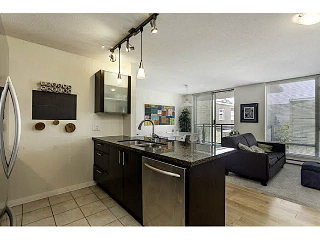 """Photo 3: Photos: 404 1650 W 7TH Avenue in Vancouver: Fairview VW Condo for sale in """"VIRTU"""" (Vancouver West)  : MLS®# V1079673"""