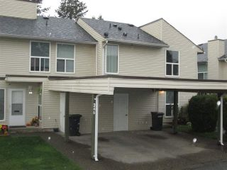 """Photo 1: 245 32550 MACLURE Road in Abbotsford: Abbotsford West Townhouse for sale in """"Clearbrook Village"""" : MLS®# R2319437"""