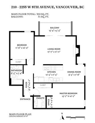 """Photo 22: 210 2255 W 8TH Avenue in Vancouver: Kitsilano Condo for sale in """"WEST WIND"""" (Vancouver West)  : MLS®# R2583835"""