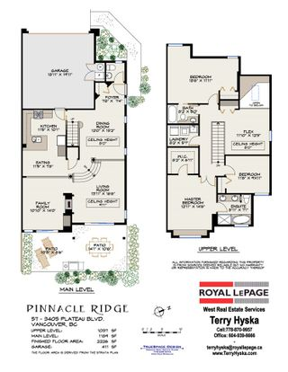 """Photo 38: 57 3405 PLATEAU Boulevard in Coquitlam: Westwood Plateau Townhouse for sale in """"PINNACLE RIDGE"""" : MLS®# R2483170"""