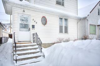 Photo 2: 549 Elgin Avenue in Winnipeg: West End Single Family Detached for sale (5A)  : MLS®# 1903292
