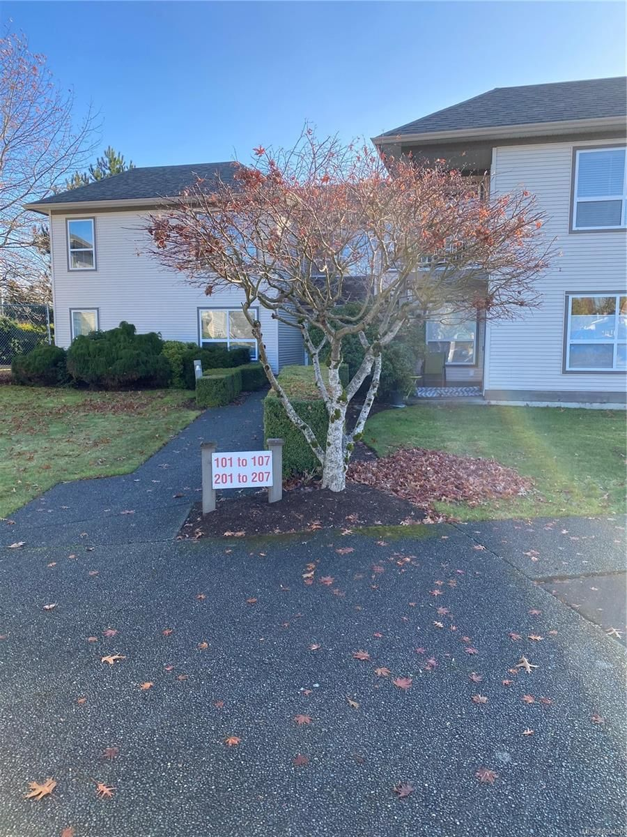 Main Photo: 104 2525 Fitzgerald Ave in : CV Courtenay City Condo for sale (Comox Valley)  : MLS®# 860490