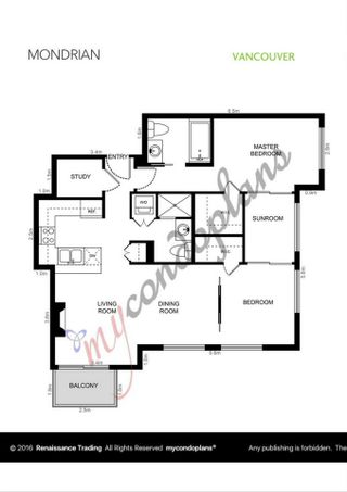 """Photo 16: 1606 989 RICHARDS Street in Vancouver: Downtown VW Condo for sale in """"MONDRIAN I"""" (Vancouver West)  : MLS®# R2122201"""