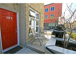 Photo 3: 102 315 24 Avenue SW in CALGARY: Mission Townhouse for sale (Calgary)  : MLS®# C3615121