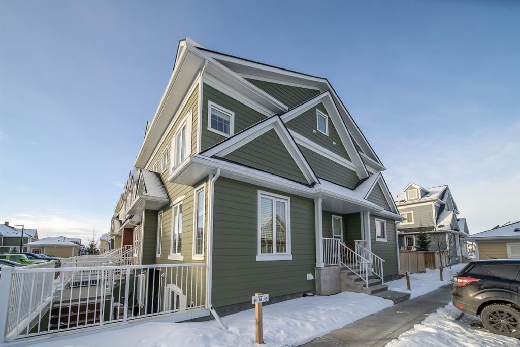 Main Photo: 1017 2400 Ravenswood View SE: Airdrie Row/Townhouse for sale : MLS®# A1075297