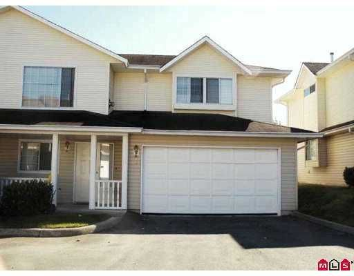 """Main Photo: 41 31255 UPPER MACLURE RD in Abbotsford: Abbotsford West Townhouse for sale in """"Country Lane Estates"""" : MLS®# F2620159"""