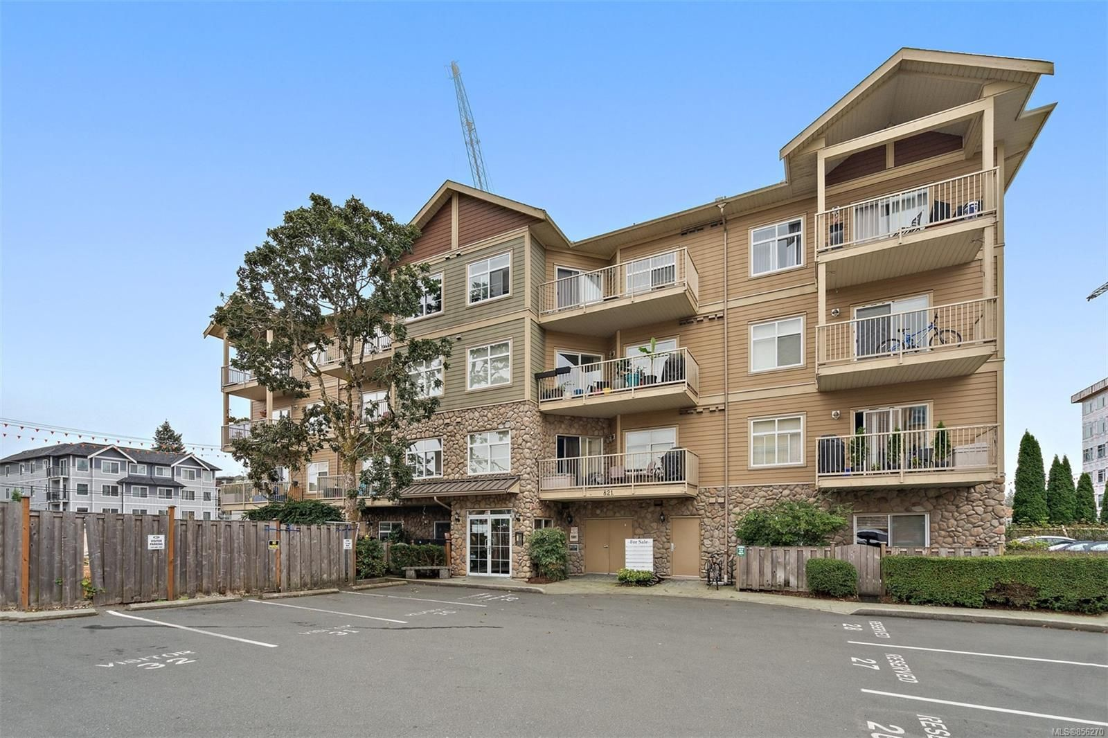 Main Photo: 407 821 Goldstream Ave in : La Langford Proper Condo for sale (Langford)  : MLS®# 856270