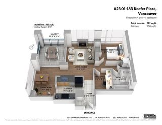 Photo 37: 2301 183 KEEFER Place in Vancouver: Downtown VW Condo for sale (Vancouver West)  : MLS®# R2604500
