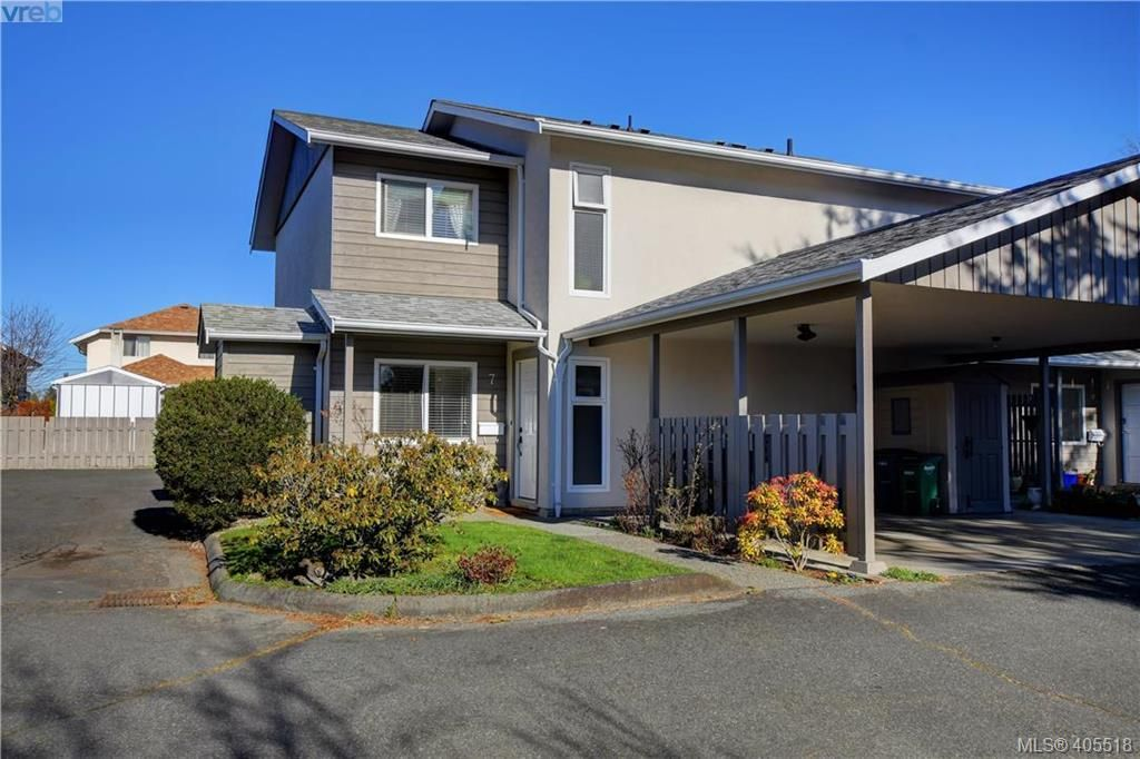 Main Photo: 7 400 Culduthel Rd in VICTORIA: SW Gateway Row/Townhouse for sale (Saanich West)  : MLS®# 805780