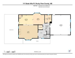 Photo 38: 111 Butte Hills Place in Rural Rocky View County: Rural Rocky View MD Detached for sale : MLS®# A1116161