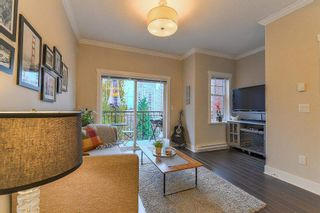 "Photo 10: 206 828 ROYAL Avenue in New Westminster: Downtown NW Townhouse for sale in ""BRICKSTONE WALK"" : MLS®# R2222014"