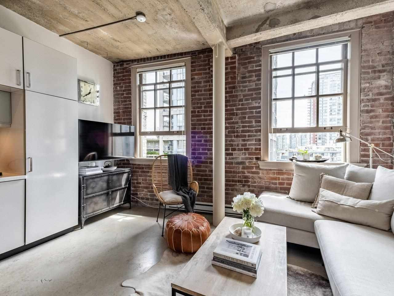 The epitome of cool - sleek loft-style 1 bd+office Nook + in-suite storage!