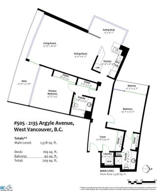 """Photo 35: 505 2135 ARGYLE Avenue in West Vancouver: Dundarave Condo for sale in """"THE CRESCENT"""" : MLS®# R2620347"""