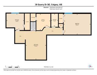 Photo 40: 38 Quarry Drive SE in Calgary: Douglasdale/Glen Detached for sale : MLS®# A1076014
