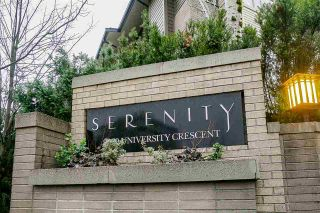 """Photo 3: 100 9229 UNIVERSITY Crescent in Burnaby: Simon Fraser Univer. Townhouse for sale in """"SERENITY"""" (Burnaby North)  : MLS®# R2329232"""