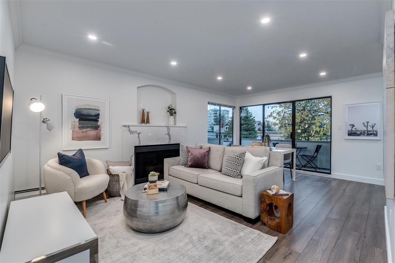 """Main Photo: 306 1250 W 12TH Avenue in Vancouver: Fairview VW Condo for sale in """"Kensington Place"""" (Vancouver West)  : MLS®# R2522792"""