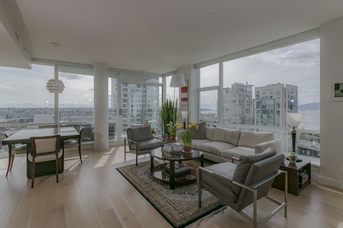 Main Photo: 1704 1455 HOWE STREET in Vancouver: Yaletown Condo for sale (Vancouver West)  : MLS®# R2263056