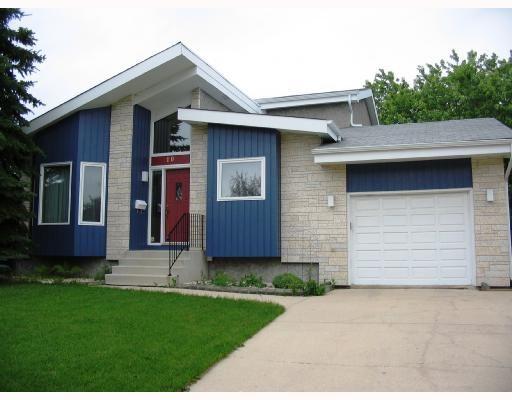 Main Photo: 10 KINSBOURNE GREEN Crescent in WINNIPEG: St Vital Residential for sale (South East Winnipeg)  : MLS®# 2813106