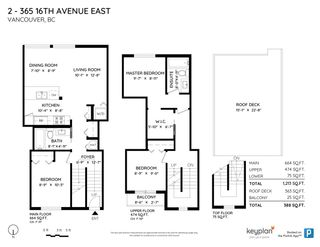 """Photo 40: 2 365 E 16TH Avenue in Vancouver: Mount Pleasant VE Townhouse for sale in """"Hayden"""" (Vancouver East)  : MLS®# R2574581"""
