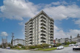 "Photo 1: 404 47 AGNES Street in New Westminster: Downtown NW Condo for sale in ""Fraser House"" : MLS®# R2564931"