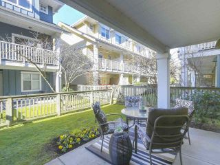 "Photo 19: 110 935 EWEN Avenue in New Westminster: Queensborough Townhouse for sale in ""Coopers Landing"" : MLS®# R2351084"