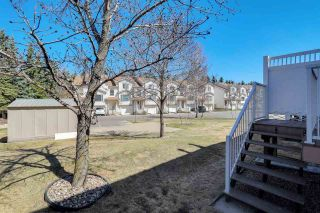Photo 43: 27 9630 176 Street in Edmonton: Zone 20 Townhouse for sale : MLS®# E4240806
