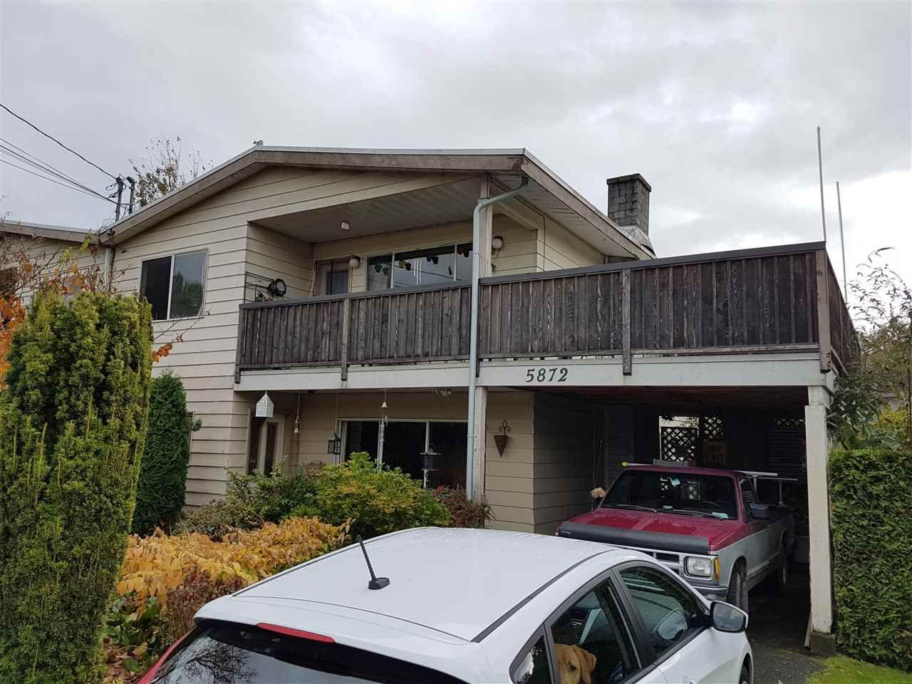 Main Photo: 5872 17A AVENUE in Delta: Beach Grove 1/2 Duplex for sale (Tsawwassen)  : MLS®# R2118472