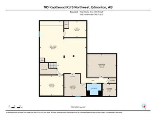 Photo 38: 703 KNOTTWOOD Road S in Edmonton: Zone 29 House for sale : MLS®# E4261398