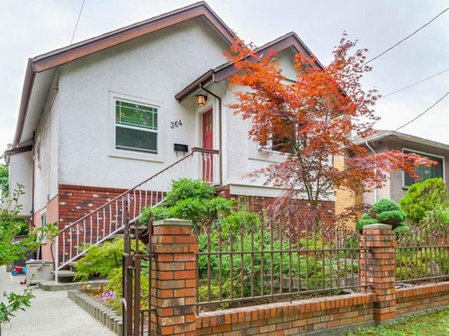 Main Photo: 364 E 24th Avenue in Vancouver: Main House for sale (Vancouver East)  : MLS®# V1082469