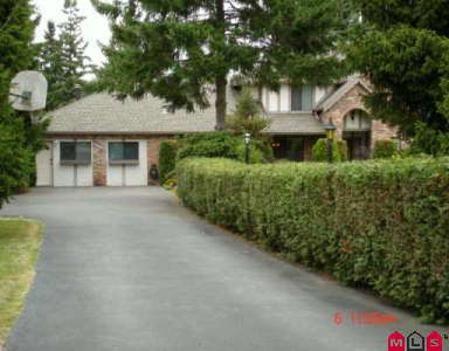 Main Photo: 13341 24TH AV in White Rock: House for sale (Elgin/Chantrell)  : MLS®# F2623041